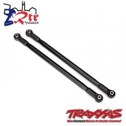 Enlaces de suspension 10x206mm traseros superiores Negros Traxxas UDR TRA8542T