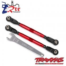 Punteras delanteras Aluminio Rojo Duro Traxxas UDR TRA8547R