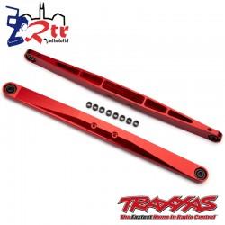Brazo de arrastre Aluminio Rojo Duro ensamblado con bolas huecas TRA8544R