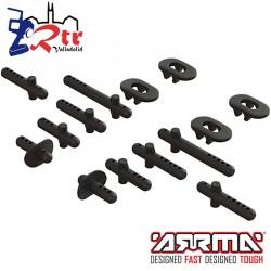 Conjunto de soportes de Carrocería Arrma AR320357