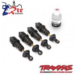 Amortiguadores GTR Aluminio Oscuro Ensamblados sin resortes 4 Und TRA5460X