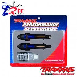 Amortiguadores GTR Largos Azul Anodizado TRA7461X