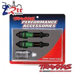 Amortiguadores GTR Largos Verdes Anodizado TRA7461G
