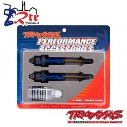 Amortiguadores GTR xx-Largos Azul Anodizado TRA7462