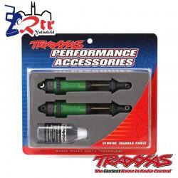 Amortiguadores Traxxas GTR xx-Largos Verdes Anodizado...