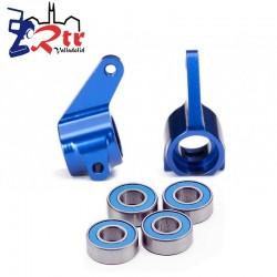 Bloques de dirección Aluminio Azul Traxxas TRA3636A