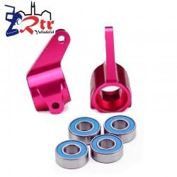 Bloques de dirección Aluminio Rosados Traxxas TRA3636P