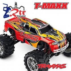 Cuerpo Traxxas T-Maxx Clasico 2.5 pegatinas BodyShell Carroceria Roja