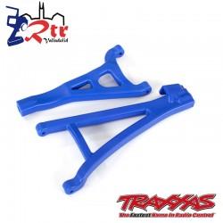 Trapecios delanteros izquierdos Azul Traxxas Endurecidos TRA8632X