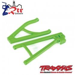 Trapecios traseros izquierdos Verdes Traxxas endurecidos TRA8634G