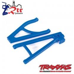 Trapecios traseros izquierdos Azul Traxxas endurecidos TRA8634X