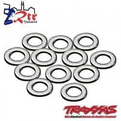 Arandelas, metal 3x6mm 12 Unidades TRA2746