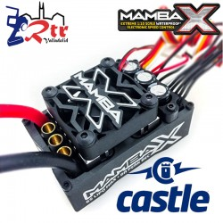 Castle Manba X 25.2V Crawler Edition Waterproft Sensores ESC