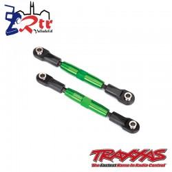 Links Tiradores 83m Ajustable Aluminio Verde Traxxas TRA3643G