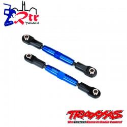 Links Tiradores 83m Ajustable Aluminio Azul Traxxas TRA3643X
