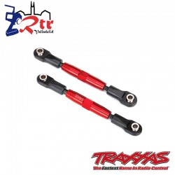 Links Tiradores 83m Ajustable Aluminio Rojo Traxxas TRA3643R