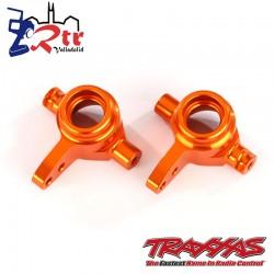 Bloques de dirección, izquierda y derecha Aluminio Anaranjado TRA6837R