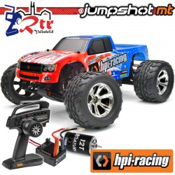 Hpi Jumpshot MT V2.01/10 Monster Truck Escobillas RTR 2.4GHz