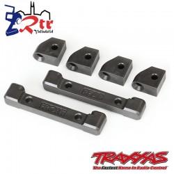 Soportes brazos de suspensión retenedores de pasador de bisagra Traxxas 4tec TRA8334