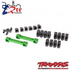 Soportes brazos de suspensión retenedores de pasador de bisagra Traxxas 4tec TRA8334G