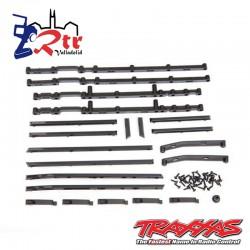 Platinas negras Mercedes TRX-4 Traxxas TRA8815