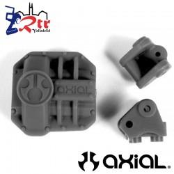 Tapa del Diferencial y Bases links Negras Axial AX31437