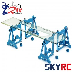 Herramientas SkyRC de configuración Setup  Azul