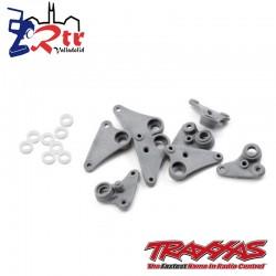 Juego de balancines casquillos progresivos plástico 1/16 Traxxas TRA7250R