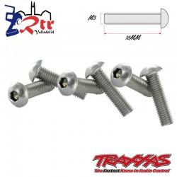 Tornillos Hexagonal 3x10mm 6 Unidades Traxxas TRA2577X