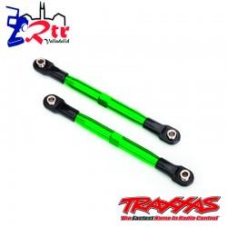 Links 87mm Delanteros Aluminio Verde Traseros Traxxas TRA6742G