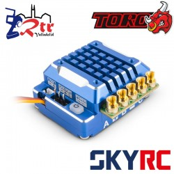 SkyRC Toro TS120A Brushless ESC 2-3s LiPo for 1/10 Azul