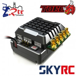 SkyRC Toro TS120A Brushless ESC 2-3s LiPo for 1/10 Negro