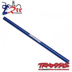 Eje de transmisión central aluminio Azul TRA6765