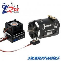 Hobbywing Xerun Justock Combo G2.1 17.5 Turn 2450kV Sensored