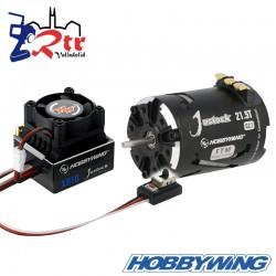 Hobbywing Xerun Justock Combo G2.1 21.5 Turn 2050kV Sensored