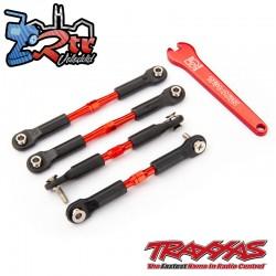 Tensores de aluminio aluminio Rojo Traxxas TRA3741X