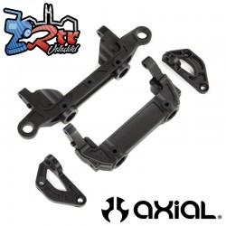 Soportes parachoques / carrocería Chasis Del/Tras Axial SCX10 III AXI231016