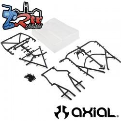 Juego de cama trasera Axial UMG10 Transparente AXI31640