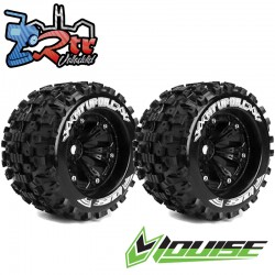 Ruedas 17mm Monster 1/8 Louise MT-UPHILL 1/2 Outset Pegadas Rellenas