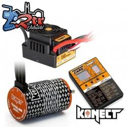 Brushless Waterproft 1/8 150A Motor 4274/2200KV + Tarjeta Programadora Combo