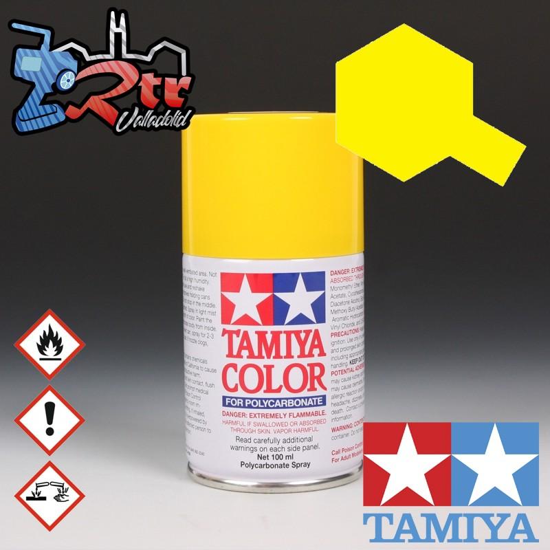 PS-6 Spray Amarillo 100Ml Tamiya Lexan Policarbonato