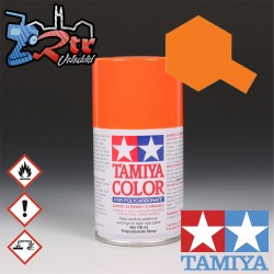PS-7 Spray Anaranjado 100Ml Tamiya Lexan Policarbonato