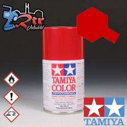 PS-15 Spray Rojo Metalico 100Ml Tamiya Lexan Policarbonato