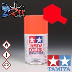 PS-20 Spray Rojo Fluorescente 100Ml Tamiya Lexan Policarbonato