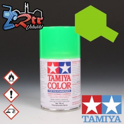 PS-28 Spray Verde Flourescente 100Ml Tamiya Lexan Policarbonato