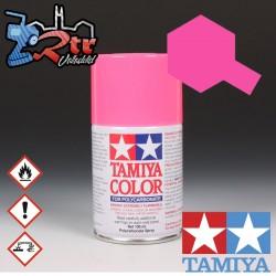 PS-28 Spray Rosa Flourescente 100Ml Tamiya Lexan Policarbonato