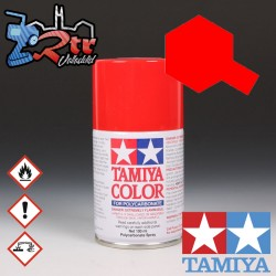 PS-34 Spray Rojo Brillante 100Ml Tamiya Lexan Policarbonato
