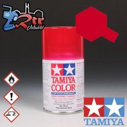 PS-37 Spray Rojo Traslucido 100Ml Tamiya Lexan Policarbonato