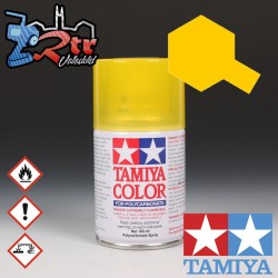 PS-42 Spray Amarillo translucido 100Ml Tamiya Lexan Policarbonato