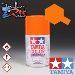 PS-62 Spray Anaranjado Puro 100Ml Tamiya Lexan Policarbonato